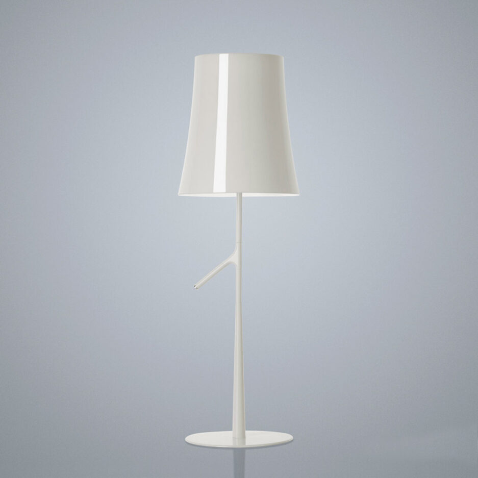 Birdie table lamp by Foscarini in White color