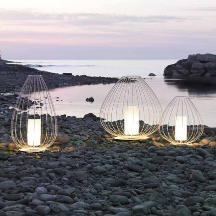 Cell outdoor lamps by Karman