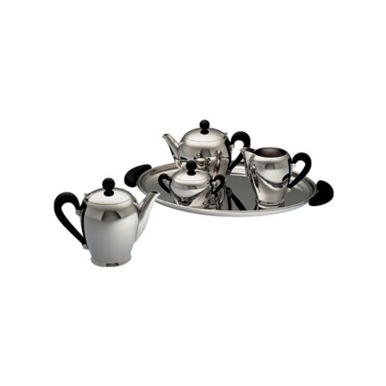 'Bombe' tea set by Alessi