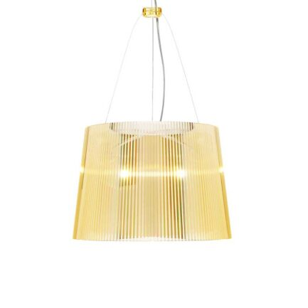 Ge pendant lamp by Kartell in yellow color