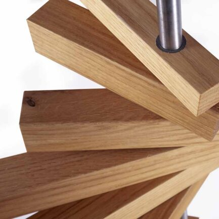 Arkof clothes hangers design in oak