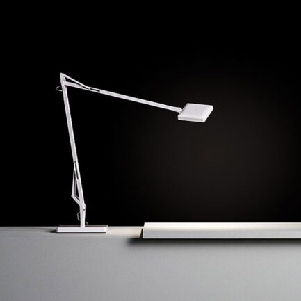 Desk lamp design Kelvin Edge's Flos in white color