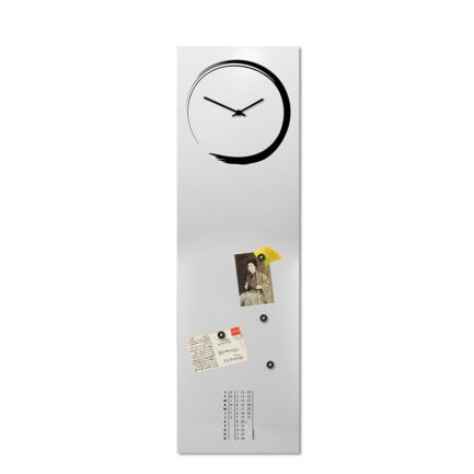 large clock for narrow wall designobject