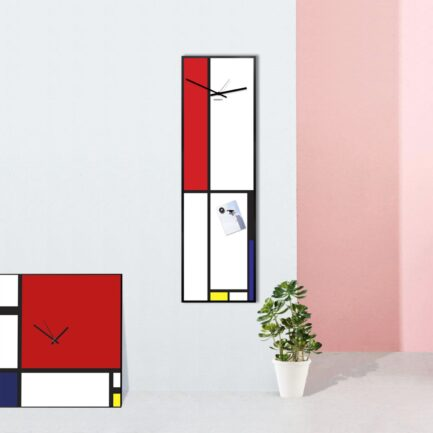 Vertical wall clocks
