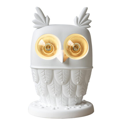 Ti Vedo owl-shaped table lamp by Karman