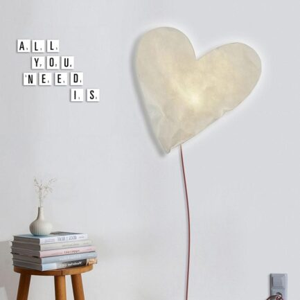 Designobject Heart lamp HEART