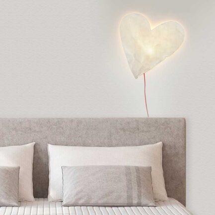 Designobject Heart-shaped lamp HEART
