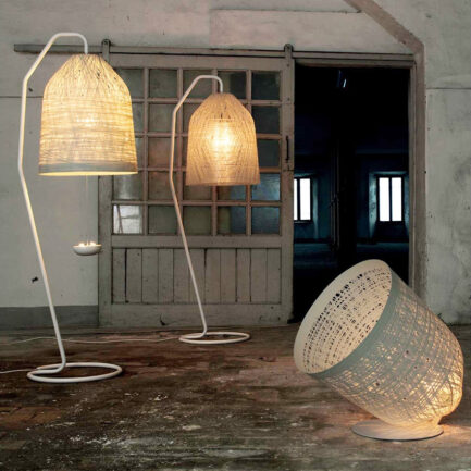 Black Out floor lamp collection by Karman
