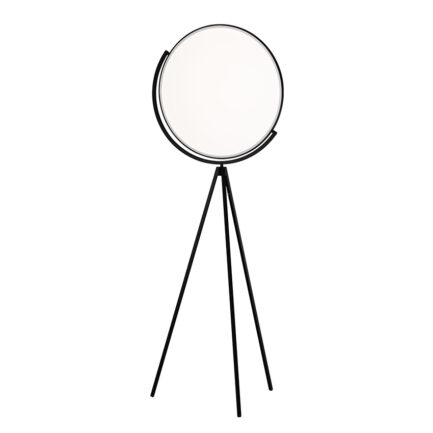 Superloon modern floor lamp by Flos with black structure