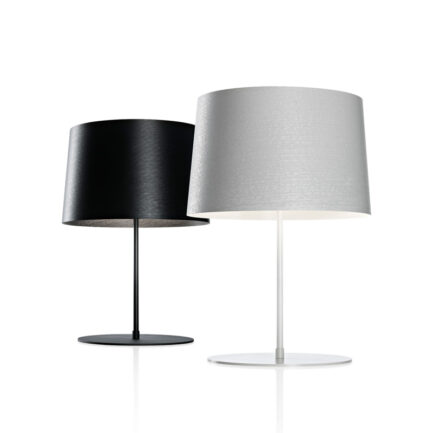 Twiggy xl table lamps by Foscarini in black and white color