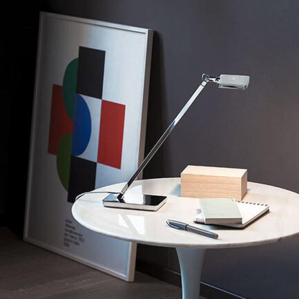 Mini Kelvin Bedside Lamp by Flos