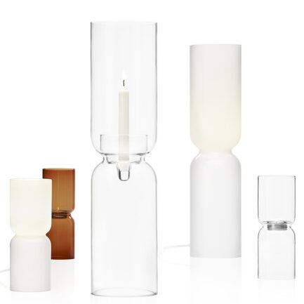 Lantern candle holder collection by iittala