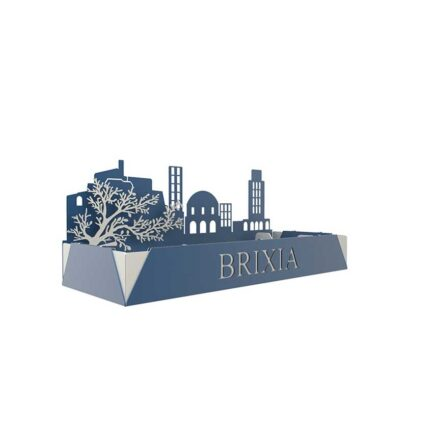 Dfre desk organizer inspired by the city of Brixia