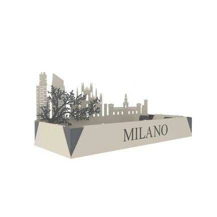 Dfre office desk organizer inspired by the city of Milan