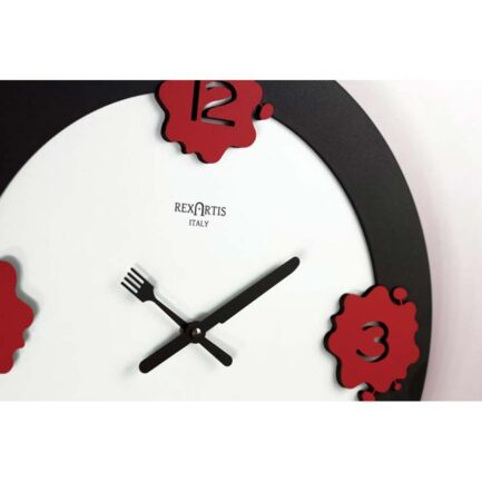 KITCH kitchen wall clock by Rexartis