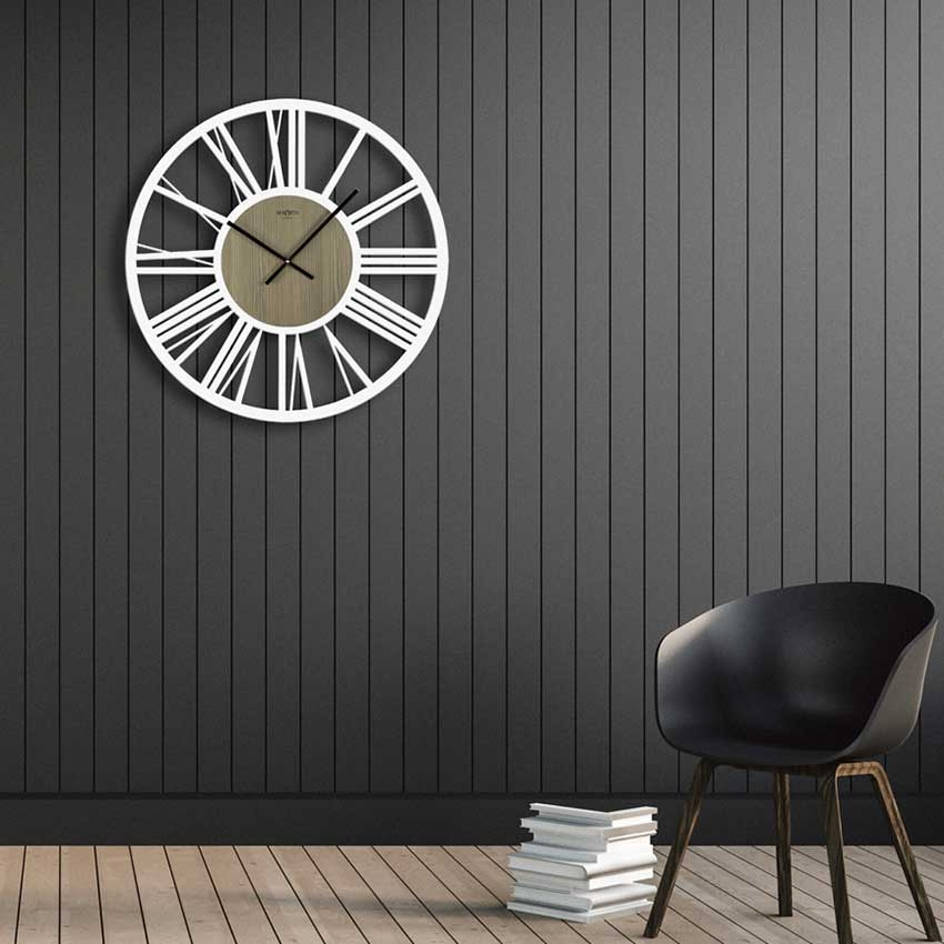 Large IMPERIAL wall clock by RexArtis with Roman numerals