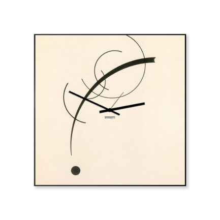 kandisky modern wall clocks designobject