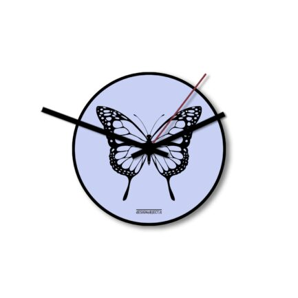 BUTTERFLY wall clock by Designobject