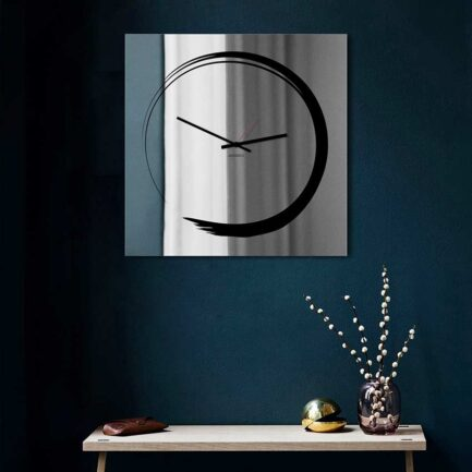 Designobject Mirror wall clock S-ENSO