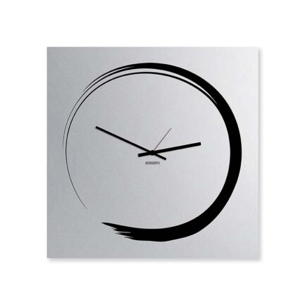 S-ENSO Mirror Wall Clock by Designobject