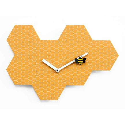 Time2bee children's room wall clock by Progetti