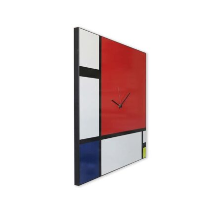 Mondrian works wall clock Designobject