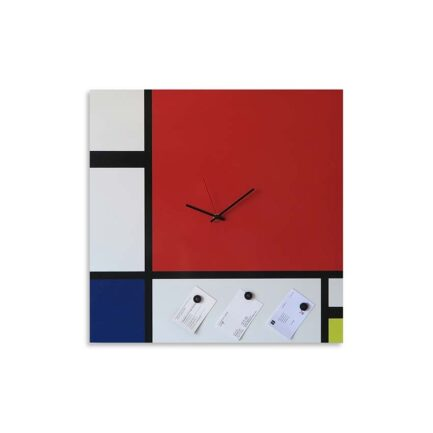 Mondrian wall clock gift ideas Designobject