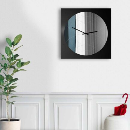 mirror wall clocks designobject