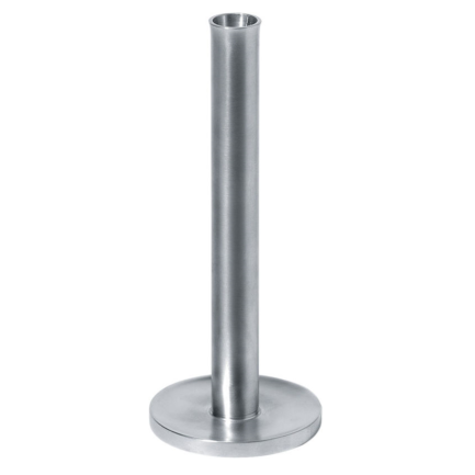 PZ02 candlestick by Alessi steel
