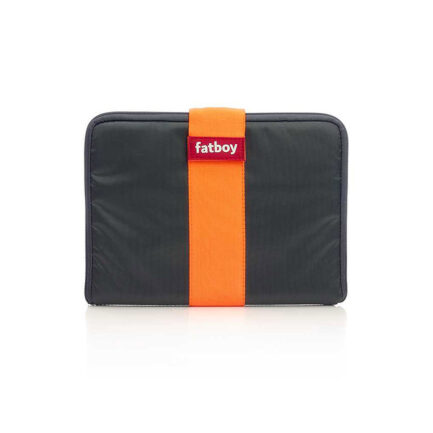 Cover for Tuxedo tablet by Fatboy. Gray and orange color
