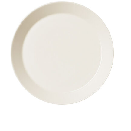 Teema dinner plate in white color. Pack of 6 pieces with a diameter of 26 cm