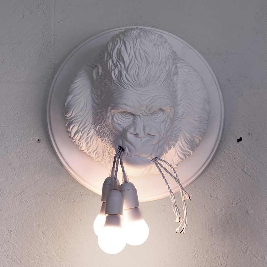 particular wall lamps Ugorilla by Karman