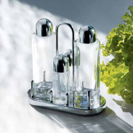 Condiment holder cruet alessi