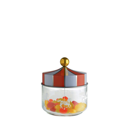 Circus glass jar by Alessi