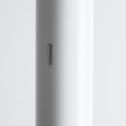 particular Ilio floor lamp by Artemide. White color