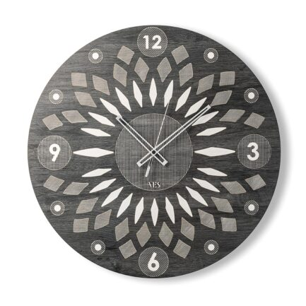Arabesque design wall clock by Ves design