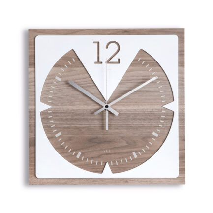 Vitesse wooden wall clock by Ves Design